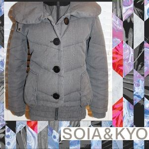 Sonia and Kyo Down Jacket size L. Amazing Design!!
